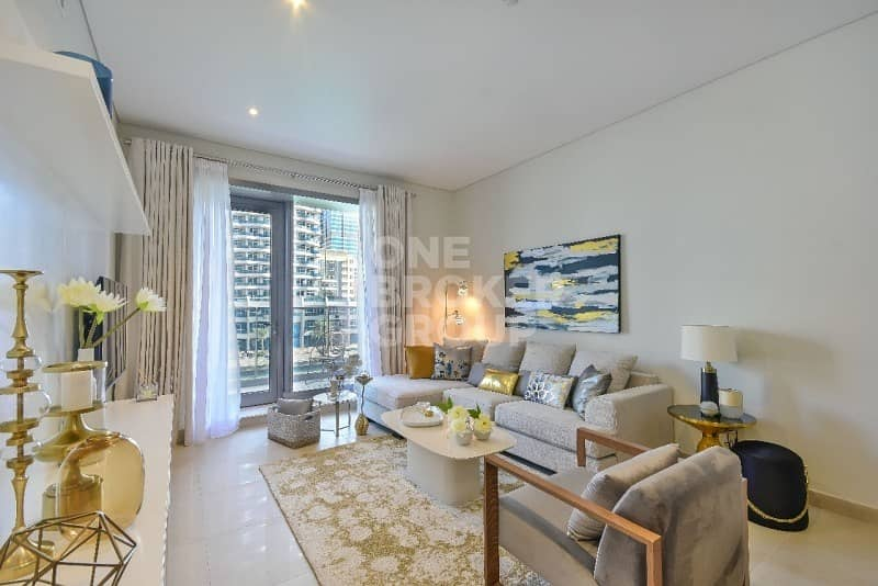 2 1BR Crystal Clear Choice for Luxury Living in Marina