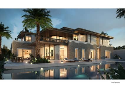 Luxury villa for sale in Abu Dhabi - Ghantoot/ sea view installment on 6.5 years direct from developer