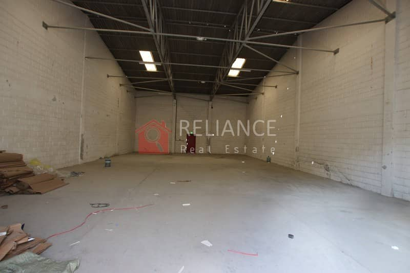 2 AED 32/SQ FT - TAX INCLUDED - COMMERCIAL WAREHOUSE IN RAS AL KHOR