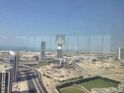 Office for Sale in Barsha Heights (Tecom), Dubai - Full Sea View Fitted Office on Higher Floor