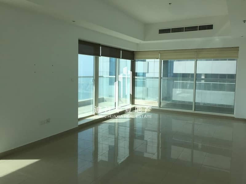 2 Full Sea View 3br for rent in Emirates Crown