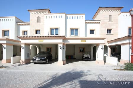 3 Bedroom Townhouse for Rent in Jumeirah Golf Estate, Dubai - 3 Bedrooms Plus maids | Private Location