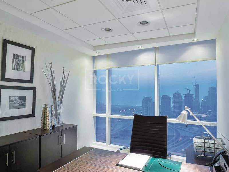 2 Fitted Office Space for Rent in HDS Business Center