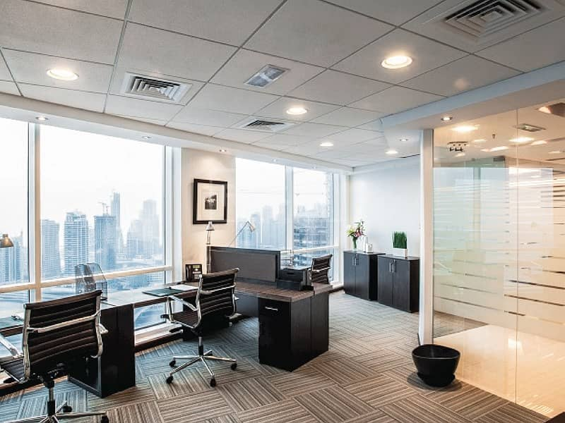 10 Fitted Office Space for Rent in HDS Business Center