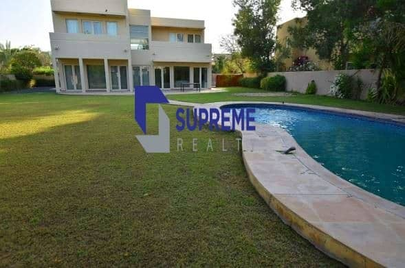 2 Private Pool I Large size Plot I 5 Bedrooms+Maids