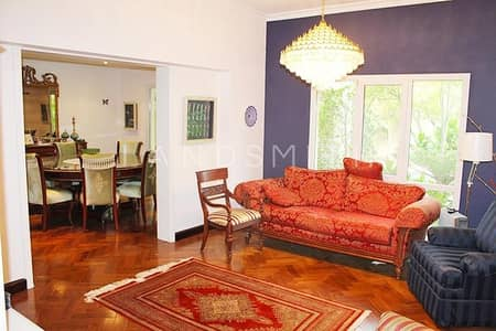 4 Bedroom Villa for Rent in The Meadows, Dubai - Well Maintained Furnished 4BR villa in Meadows 3