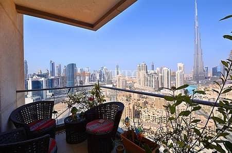3 Bedroom Apartment for Sale in Downtown Dubai, Dubai - High Floor 3BR Burj View - South Ridge