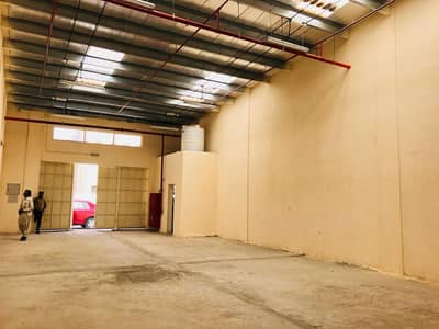 Warehouse for Rent in Al Jurf, Ajman - Brand New 1500 sqft. Warehouse with 3 Phase Electricity For Rent in Al Jurf Ajman