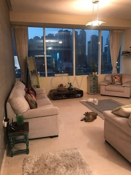 Madina Tower 1 bed fully furnished with marina mall views