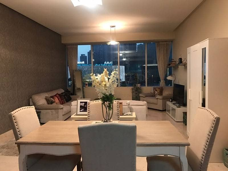 6 Madina Tower 1 bed fully furnished with marina mall views