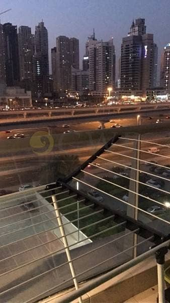 15 Madina Tower 1 bed fully furnished with marina mall views