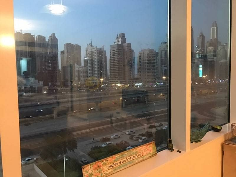 10 Madina Tower 1 bed fully furnished with marina mall views