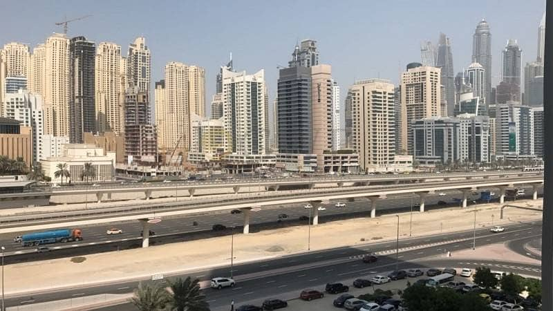 9 Madina Tower 1 bed fully furnished with marina mall views