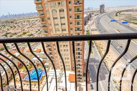 2 Bedroom Apartment for Sale in Jumeirah Village Triangle (JVT), Dubai - Higher floor / Pool facing