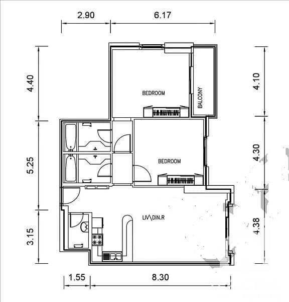 10 Higher floor / Pool facing