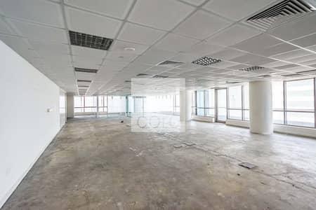 مکتب  للايجار في منطقة الكورنيش، أبوظبي - Fitted Office   Mid Floor   City Views