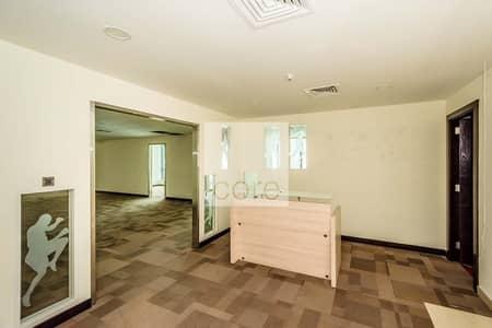 مکتب  للايجار في منطقة الكورنيش، أبوظبي - Fitted Office with Partitions   City View