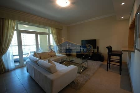 فلیٹ 2 غرفة نوم للايجار في نخلة جميرا، دبي - Fully Furnished 2Bed+Maid in Al Khudrawi