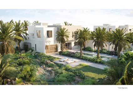 5 Bedroom Villa for Sale in Ghantoot, Abu Dhabi - Affordable Villa 5 BR in al jurf Abu Dhabi/6.5 years post HANDOVER/private Beach / private Marina