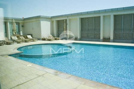 فلیٹ 1 غرفة نوم للايجار في دانة أبوظبي، أبوظبي - Spacious 1BR. Aprt. with Free Parking + Facilities
