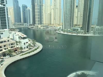 Luxury Apartment 2 BR+Maid Marina view