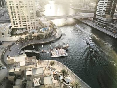 شقة 2 غرفة نوم للبيع في دبي مارينا، دبي - Exclusive 2 BR+Maids | Vacant | Marina View