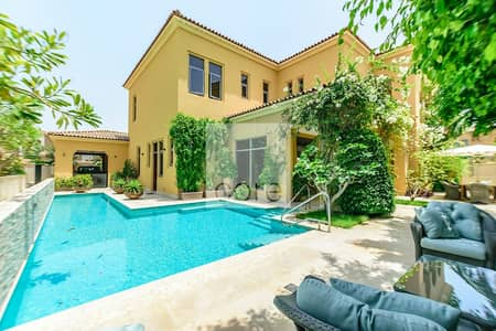 5 Bedroom Villa for Sale in Saadiyat Island, Abu Dhabi - Corner Plot | Private Pool | 5 Bed Villa