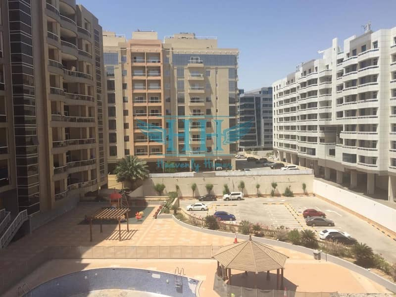 Vacant  1 BR Apartment with 2 Balconies in Dubai Silicon Oasis
