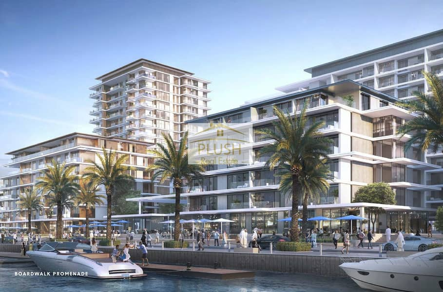 Emaar l Beachfront l Port Rashid l 40/60 Payment Plan l 100% DLD waiver