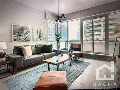 فلیٹ 1 غرفة نوم للبيع في دبي مارينا، دبي - Cheapest On The Market / Upgraded 1 Bed