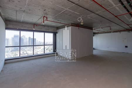 Office for Rent in Jumeirah Lake Towers (JLT), Dubai - Huge Layout Shell and Core Office in JLT