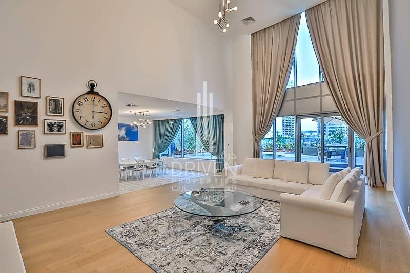 2 Upgraded 4 Bedroom Villa in Dubai Marina