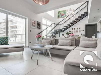شقة 3 غرفة نوم للايجار في تلال الجميرا، دبي - Modern | Bright and Spacious Duplex 3 BR