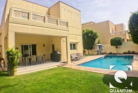 فیلا 4 غرفة نوم للايجار في السهول، دبي - Private Pool   Fully Upgraded   Immaculate