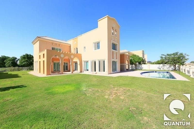 Golf course view | Private Swimming pool