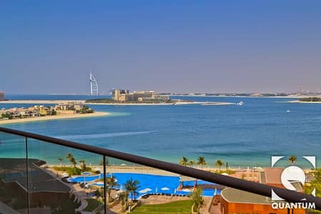 1 Bedroom Apartment for Sale in Palm Jumeirah, Dubai - Sea and Burj Al Arab View | Vacant Unit.