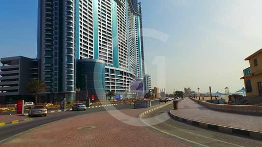 شقة 1 غرفة نوم للبيع في كورنيش عجمان، عجمان - Hot deal!!! Amazing sea view for 1 bedroom apartment for sale