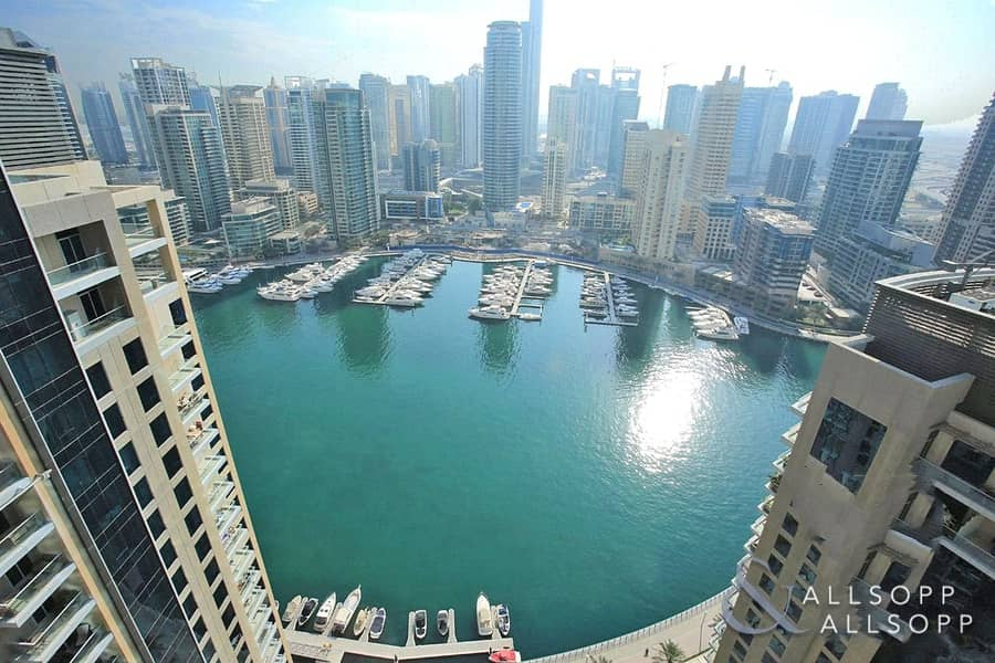 Full Marina View | Three Bedroom Apartment