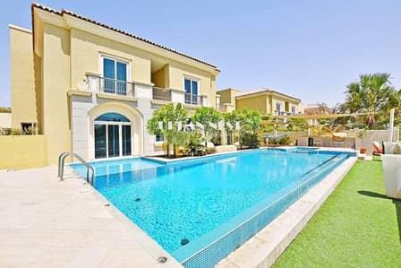 5 Bedroom Villa for Sale in Dubai Sports City, Dubai - Stunning B1 Villa with Fantastic Pool and BBQ Area (VH-S-0138)