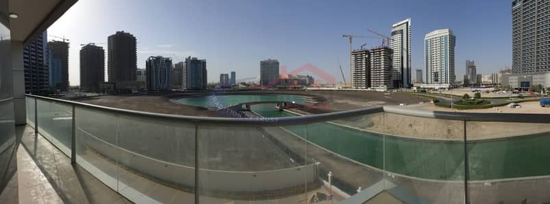 2 Bedroom Flat for Sale in Dubai Sports City, Dubai - Panoramic lake view apt with big balcony