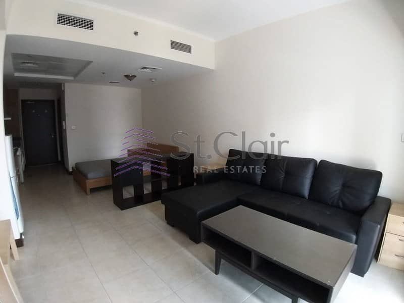 2 Furnished Studio with Parking | Full Lake View