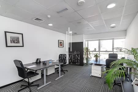 Office for Rent in Dubai Sports City, Dubai - Fully Furnished and Service Fitted Office