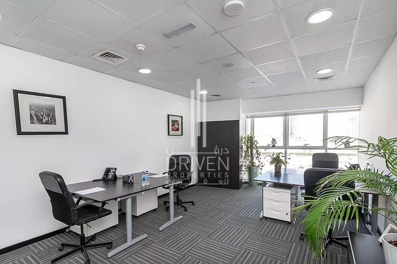 Fully Furnished and Service Fitted Office