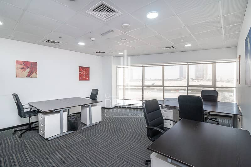 2 Fully Furnished and Service Fitted Office