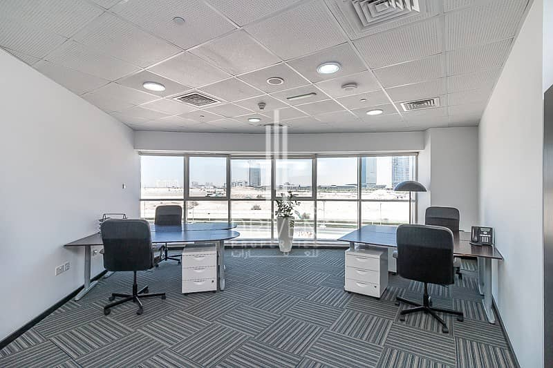 18 Fully Furnished and Service Fitted Office
