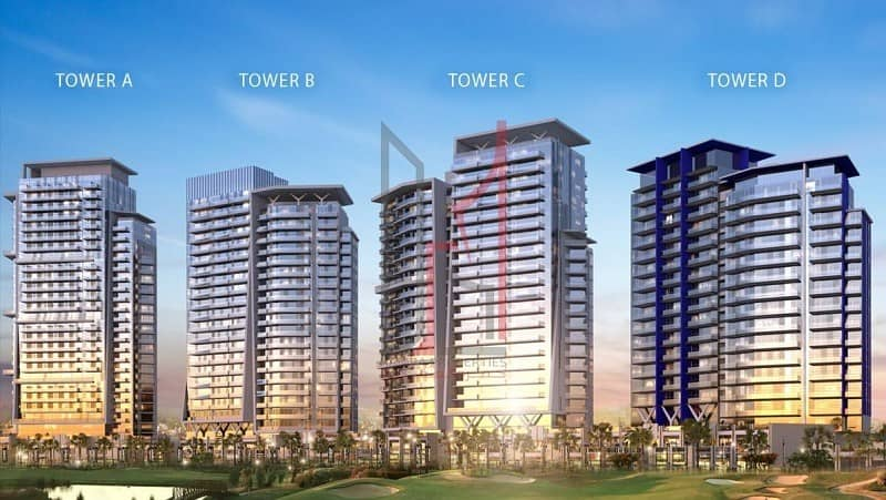 2 Furnished Studio Golf Facing 5 Years PPP