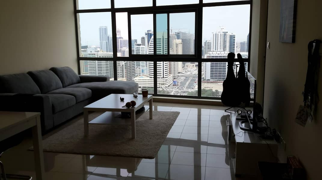 Spacious 1 bedroom apartment for rent in Links West Tower