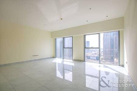 فلیٹ 1 غرفة نوم للبيع في مركز دبي المالي العالمي، دبي - One Bedroom | Large Living | Sea Views