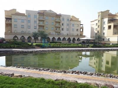 شقة 1 غرفة نوم للايجار في قرية ياسمين، رأس الخيمة - 12 CHEQUES - NO AGENT COMMISSION - 1 MONTH FREE - UNFURNISHED 1 BED - LAKE VIEW