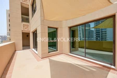 فلیٹ 2 غرفة نوم للايجار في نخلة جميرا، دبي - Exclusive | Vacant now | Extended Terrace